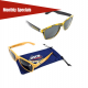 Malibu Sunglasses (with Custom Full-Color Pouch)